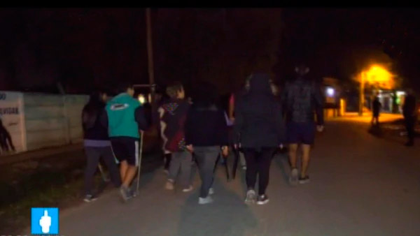Un grupo de vecinos de Florencio Varela sale a atrapar delincuentes